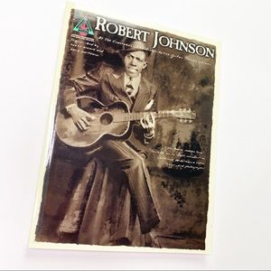 Vintage Robert Johnson Sheet Music Bass Book